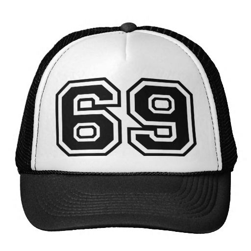 Sixty Nine Sixty Nine Pop Fashion Icon Trucker Hat Funny Hats