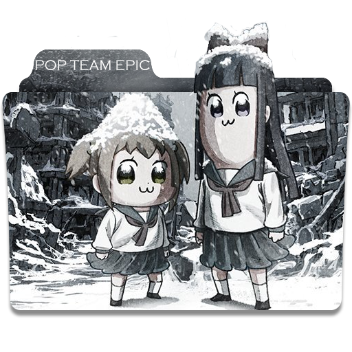 Pop Team Epic Folder Icon