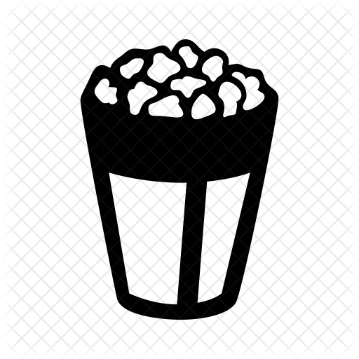 Collection Of Free Popcorn Black And White Download On Ui Ex