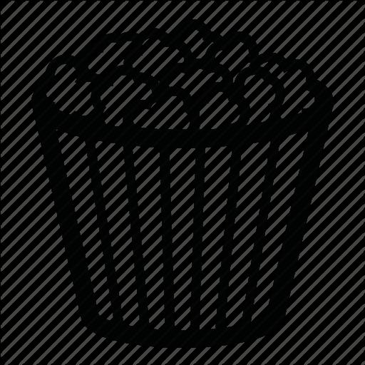 Cinema, Corn, Corn Flakes, Food, Popcorn Icon