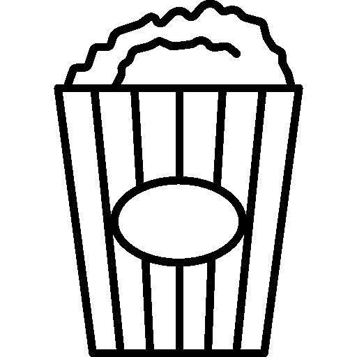 Popcorn Box Icons Free Download
