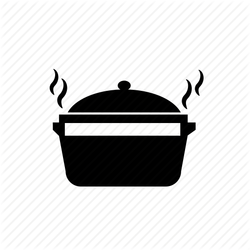 Food Pot, Hot, Hot Food Pot, Pot Icon