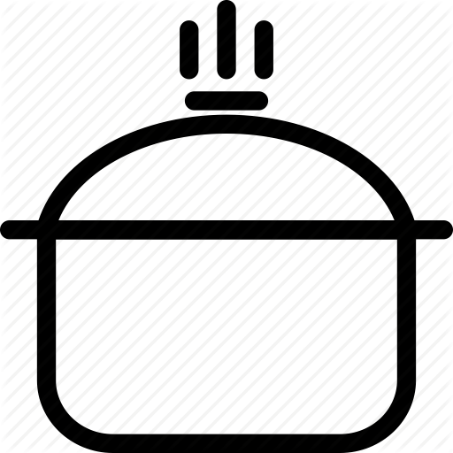 Cooking, Cooking Pot, Hot Cooking Pot Icon