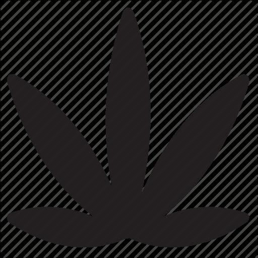 Cannabis, Leaf, Marijuana, Pot, Weed Icon