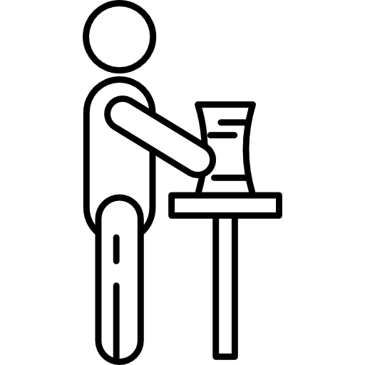 Man Doing Pottery Icons Free Download