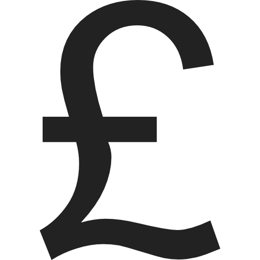 Sterling Pound Symbol Icons Free Download