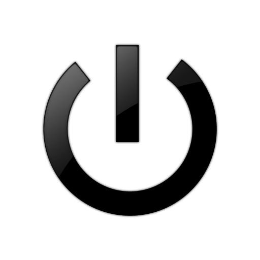 Power Button Symbol In Font Images