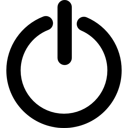 Standby, Power Button Icons Free Download