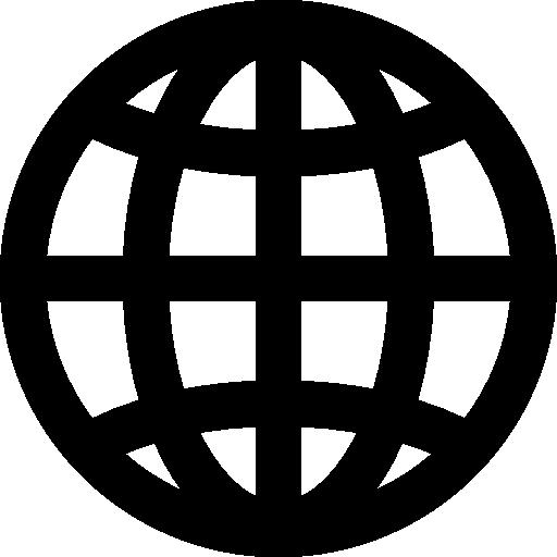 Global Grid Globe Symbol Icons Free Download