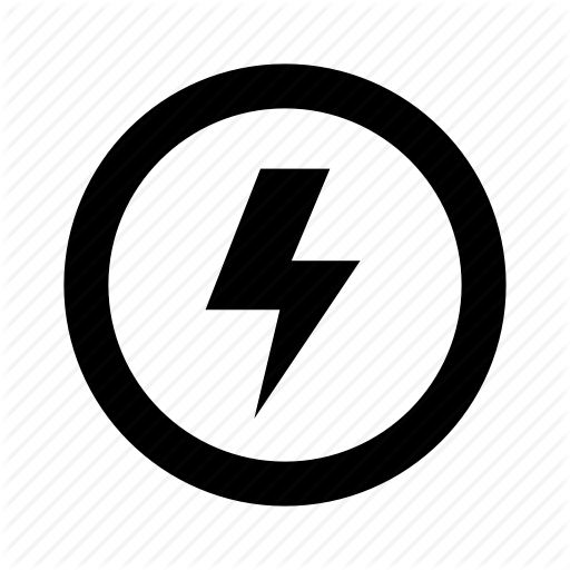 Charge, Circle, Electric, Fast, Lightning, Power Icon