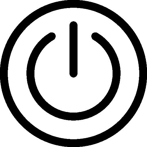 Power Button Icon Miscellaneous Elements Freepik