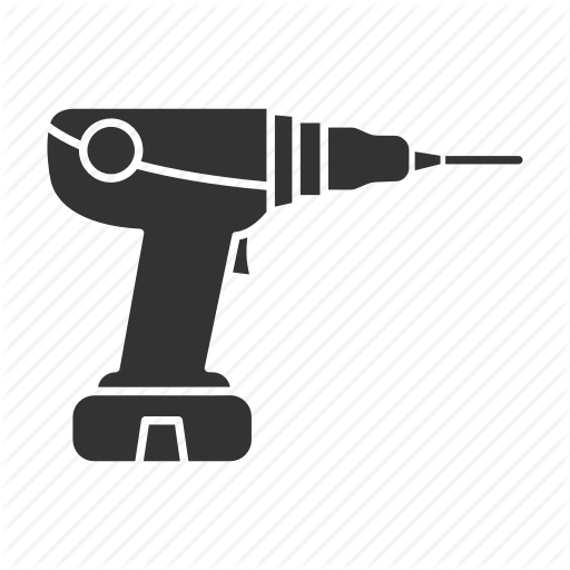 Drill, Electric, Machine, Power Drill, Screwdriver, Tool Icon