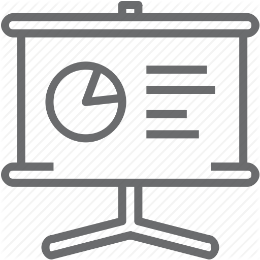 Slide Presentation Icon