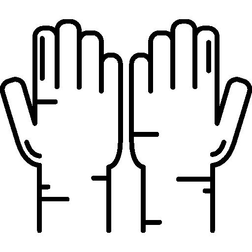 Muslim Praying Hands Icons Free Download
