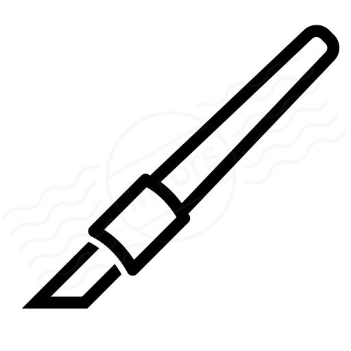 Iconexperience I Collection Precision Knife Icon