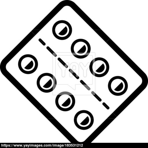 Medication And Medical Services Icon Flat Design Vector