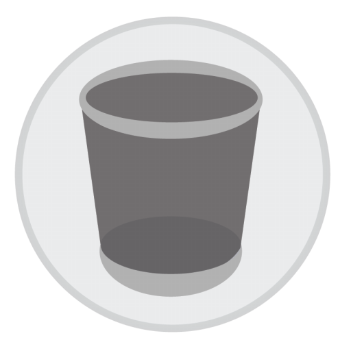 Trash Icon Mac Stock Apps Iconset Hamza Saleem