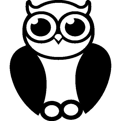 Owl Sage Symbol Icons Free Download