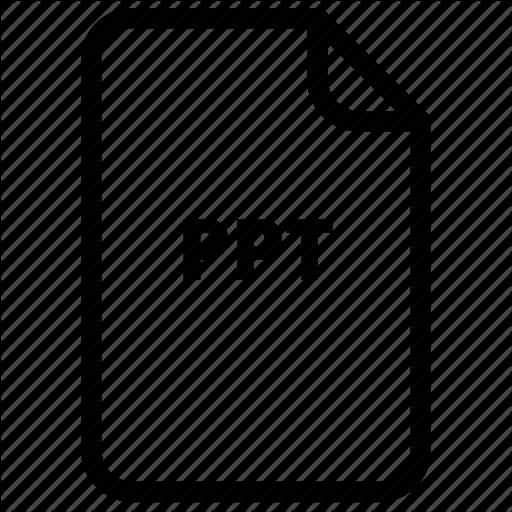 , Files, Ppt, Prezi, Type Icon