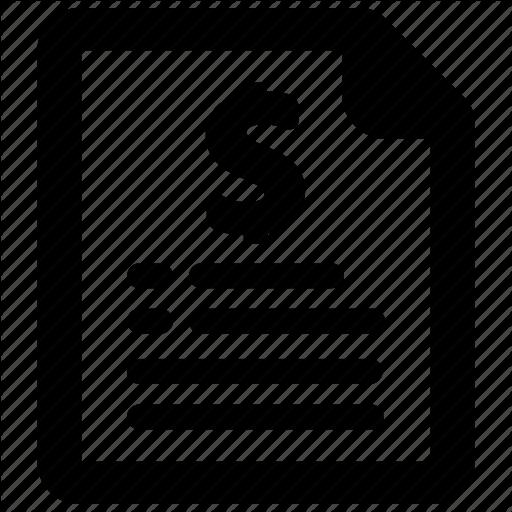 Invoice, List, Price Icon
