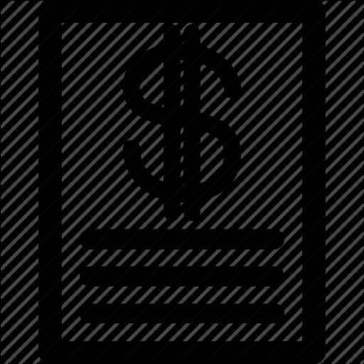 Business, Checklist, Dollar, List, Order, Price, Sale Icon