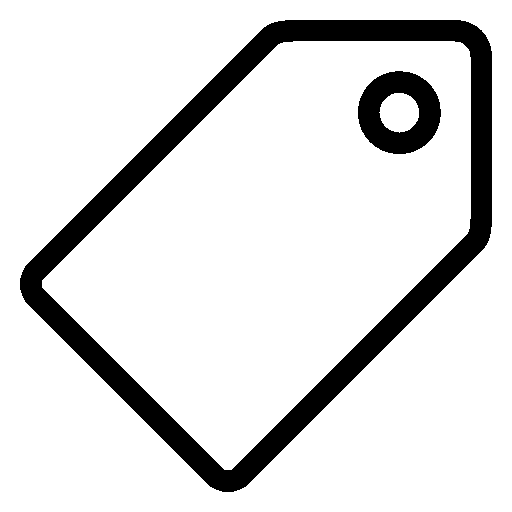 Ecommerce Price Tag Icon Ios Iconset