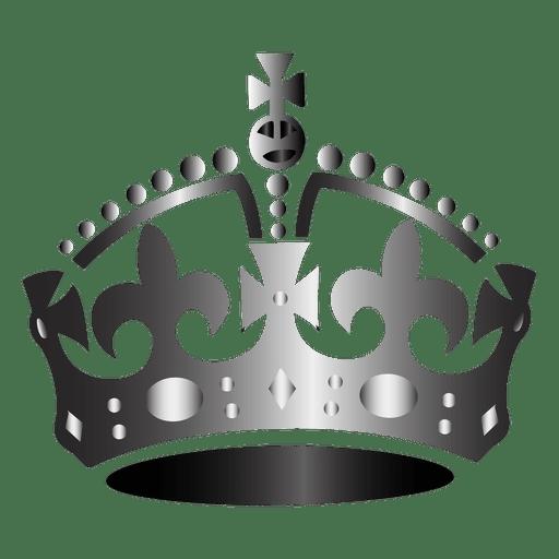 Britain Crown Silhouette