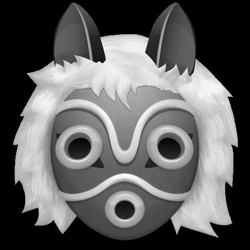 Grey Princess Mononoke Icon