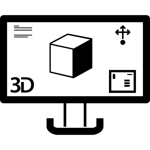 Print Image On A Monitor Screen