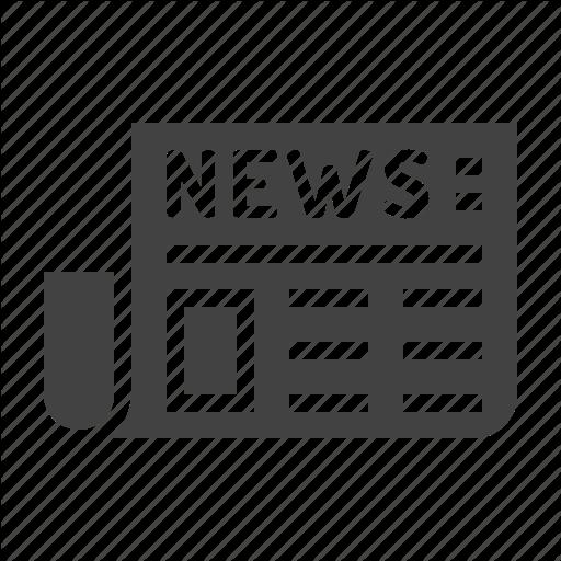News, Newspaper, Paper, Press Icon