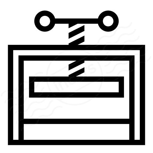 Iconexperience I Collection Press Icon