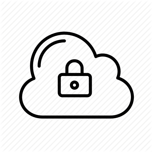 Cloud, Data Protection, Gdpr, Personal Data, Privacy Icon