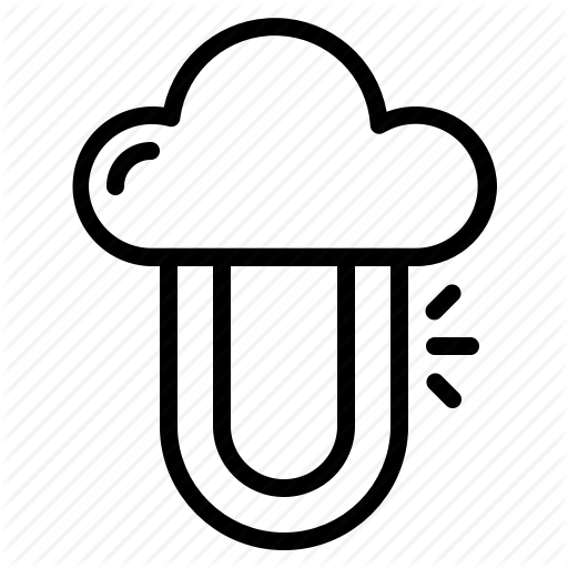 Cloud, Cloud Computing, Cloud Server, Private Icon