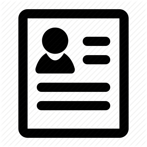 Pictures Of Profile Icon Png Black