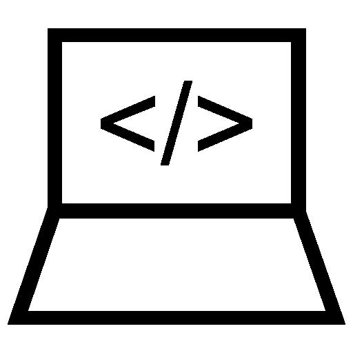 Computer Code Icon