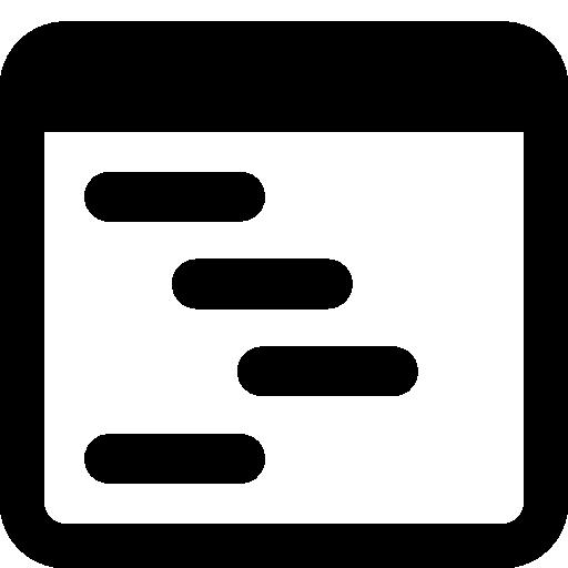 Programming Outline Icon Windows Iconset