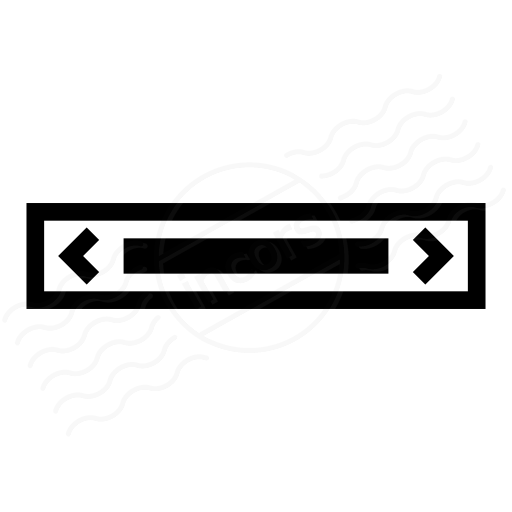 Iconexperience I Collection Scroll Bar Horizontal Icon