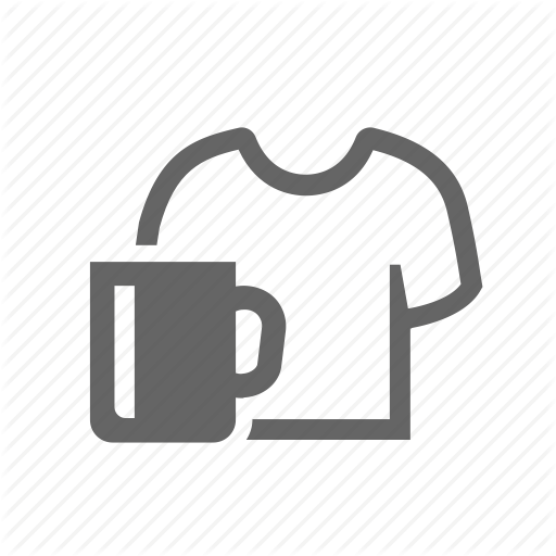 Cup, Infliction, Print, Products, Promo, Promotional, T Shirt Icon