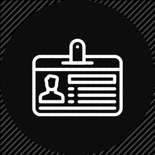 Card, Employee, Id, Identification, Proof Icon