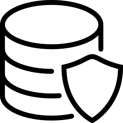Database Protection Icon Free Icons Download