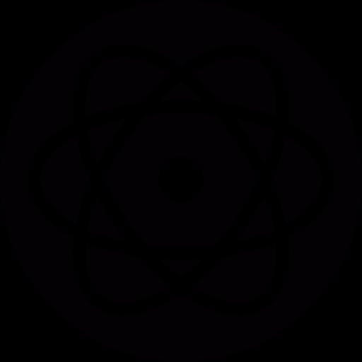 Orbital, Electron, Technology, Proton, Science, Nucleus Icon