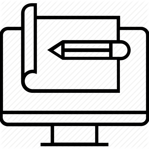 Create Prototype, Design, Pencil, Prototype, Website Prototype Icon