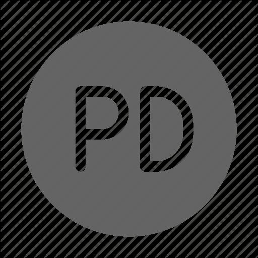Domain, License, Patent, Public Icon