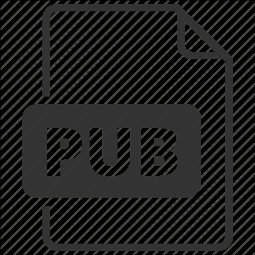 Format, Pub, Publisher Icon