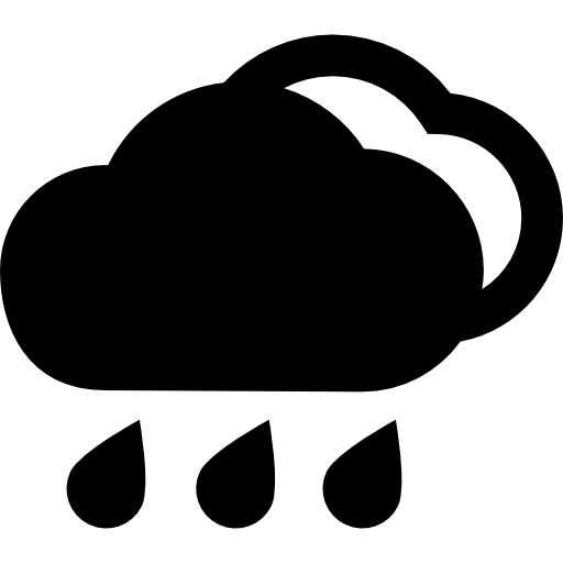 Rain Storage Of Cloud Icons Free Download