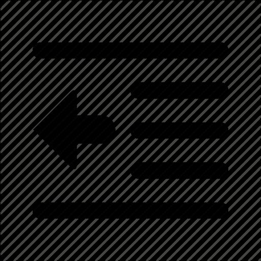 Edit, Left, Pull, Text Icon