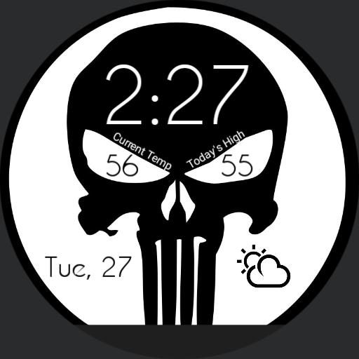Punisher Simplified For Moto