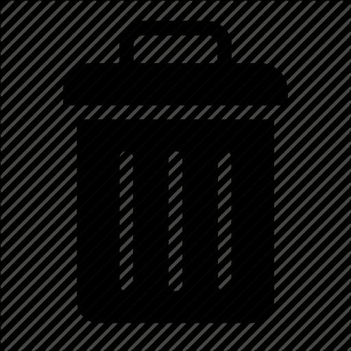 Can, Purge, Remove, Trash, Useless Icon