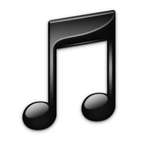 Black Itunes Icon