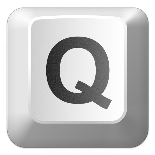 Iconexperience V Collection Keyboard Key Q Icon
